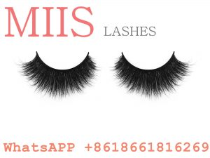 natural mink fur false eyelash