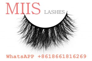 real mink clear band lashes