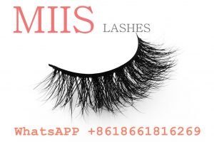 private label 3d mink eyelashes